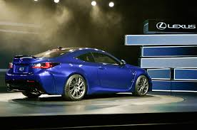 lexus rc f 2015 lexus rc f debuts at 2014 detroit auto show automobile magazine