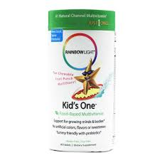rainbow light kids one rainbow light kids one chewable multivitamin and mineral 90