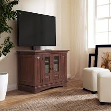tv stands small wood tv stand wooden corner with cabinet doors