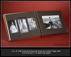8x10 photo album book leather craftsmen flush mount album matted album design print