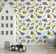 Amazoncom Colorful Dinosaur Kids Wallpaper Self Adhesive