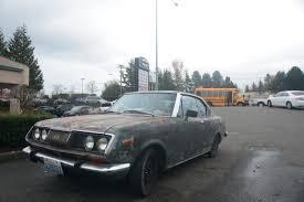 toyota corona old parked cars 1971 toyota corona mkii