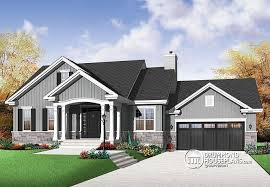 bungalow house plans with basement house plan w3236 v1 detail from drummondhouseplans