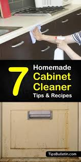 how to clean cabinets with vinegar 7 amazingly easy diy cabinet cleaners