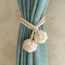 luxury european colorful curtain tie backs tassels