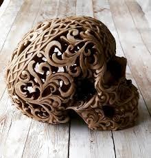 Celtic Skull - celtic skull boho wiccan samhain skull home decor