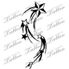 shooting star tattoos aaf 11056 created by andrea ale tattoos
