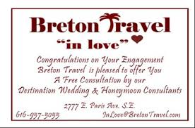 wedding travel registry the breton travel honeymoon registry breton travel