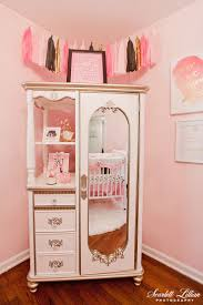Pink Changing Table by Our Daughter U0027s Nursery Scarlett Lillian