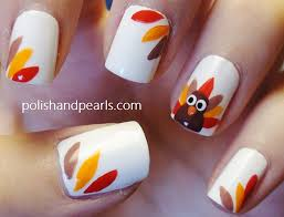 thanksgiving day nail how you can do it at home pictures