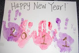 happy new year crafts for kids