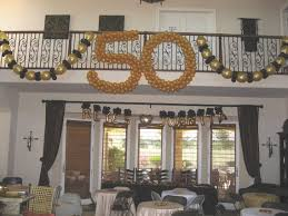 50th anniversary party ideas on a budget balloon decorations for