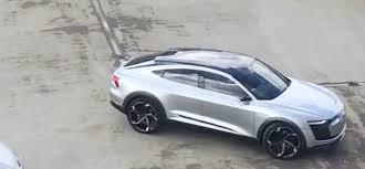 video audi u0027s u0027tesla competitor u0027 e tron sportback concept spotted