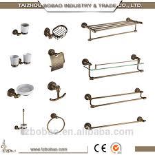 top quality brass vintage bathroom fittings antique bath hardware