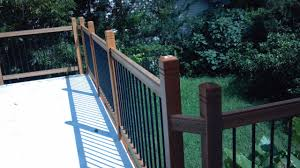 Decking Kits With Handrails 7 Things To Think About When Installing Deck Railings