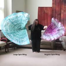 Spin Flag Prophetic Silk Flag Worship Flag Praise Dance Dyed