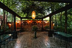 spanish house style lawn u0026 garden spanish courtyard design with metal pergola also