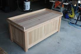 Free Woodworking Plans Outdoor Storage Bench by Woodworking Plans Outdoor Storage Box Excellent Yellow
