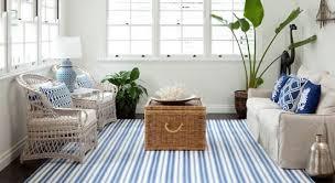 Blue Striped Area Rugs Striped Area Rugs Decoratorsbest