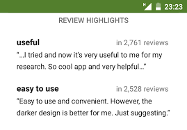 android reviews update rolling out to most users experiments with review