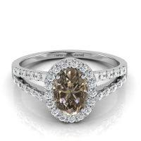 brown diamond engagement ring brown diamond fancy orangy brown 3 10 carat vs2 id 1394