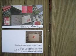Clear Business Cards Vistaprint Enjoy It By Elise Blaha Cripe Re Brand