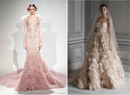 blush wedding dress trend 124 best pink wedding gowns images on pink wedding