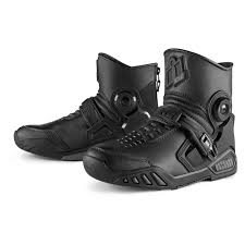 short motocross boots icon u0027s mens footwear
