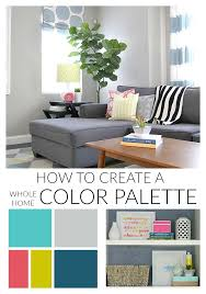 color palettes for home interior how to create a whole home color palette