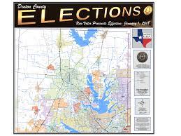 Tx Counties Map Denton County Tx Elections