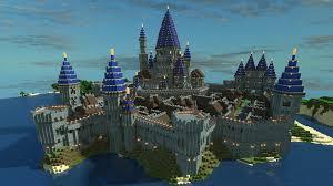 Castle Maps For Minecraft Minecraft Castle Sea Port Minecraft Pinterest Minecraft Castle