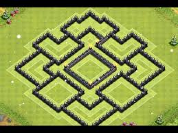 coc layout builder th8 clash of clans epic th8 farming base layout speed build youtube