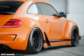 volkswagen orange can rwb do a volkswagen speedhunters