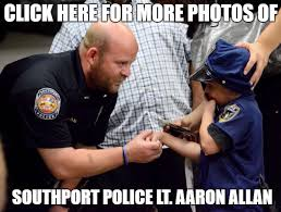 Allan Meme - photo hours before he was killed lt allan walked his 5 year old