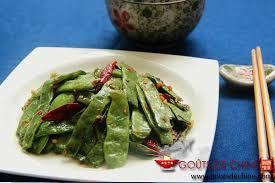 cuisiner des pois mange tout sauté de pois mange tout recette chinoise