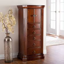 furniture amazing rustic jewelry holder recessed jewelry cabinet