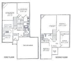 modern 2 story house plans floor plan home design modern 2 story house floor plans rustic