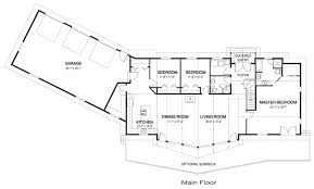 ranch house floor plans with basement ranch basements sunroom house plans home design house plans 45719