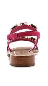 kate spade new york women u0027s bacau jeweled flat sandals deep pink