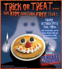 ihop black friday deals free halloween pancakes at ihop u2013 friday u2014 tip resource