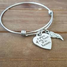 in loving memory charms a of my heart is in heaven bracelet dreamwillowstudio