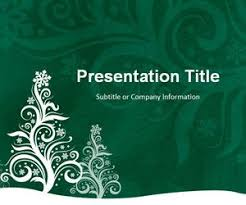 free christmas tree backgrounds for powerpoint