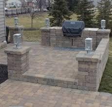 Outdoor Stone Grill Designs Chicago Brick Grill Enclosures - Backyard grill designs