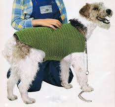 crochet pattern for dog coat dog coat crochet pattern pdf vintage t188 instant download dog
