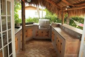 Rustic Outdoor Kitchen Ideas Incomparable Tiki Hut Outdoor Kitchens Designs With Rustic Wood