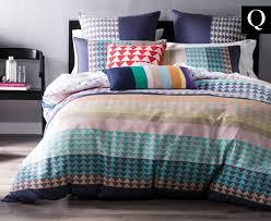 catch com au mod by linen house samson qb quilt cover set multi