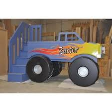 el torro loco monster truck bed kids room camas