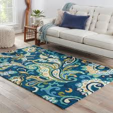 Outdoor Blue Rug by Yellow And Blue Rugs Roselawnlutheran