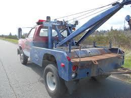 dodge tow truck bangshift com 1978 dodge power wagon tow truck
