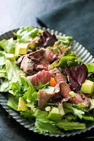 Easy Salad Recipe by Steak Salad Recipe Simplyrecipes Com